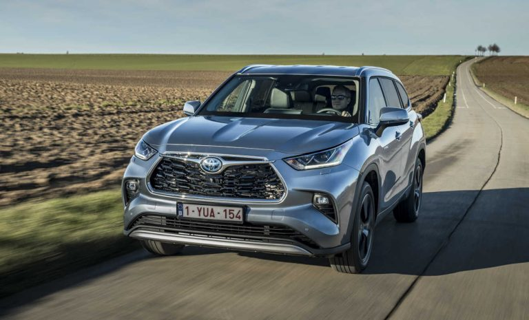 Toyota Highlander: Auf nach Europa
