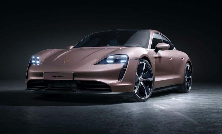 Porsche Taycan nun auch mit Heckantrieb