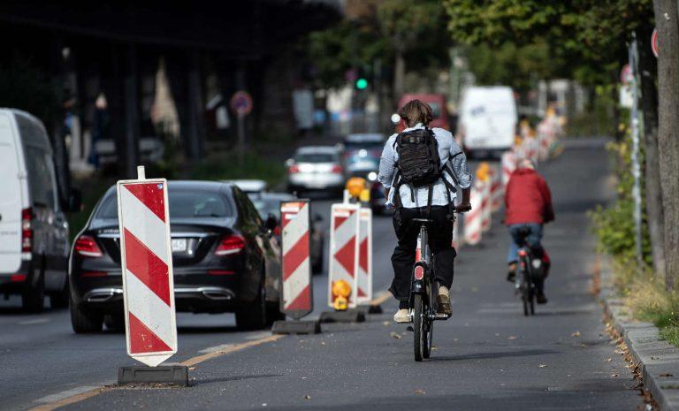 Berliner Pop-up-Radwege können vorerst bleiben