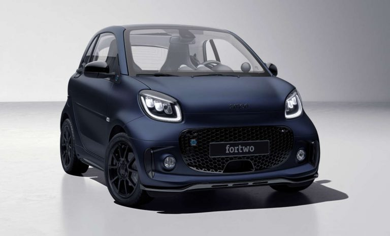 Smart EQ Fortwo als Sondermodell Bluedawn