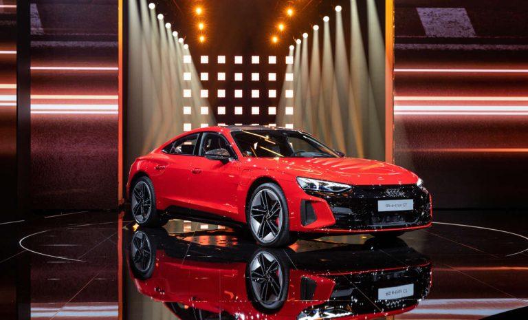 Audi e-tron GT: Symbol des Aufbruchs