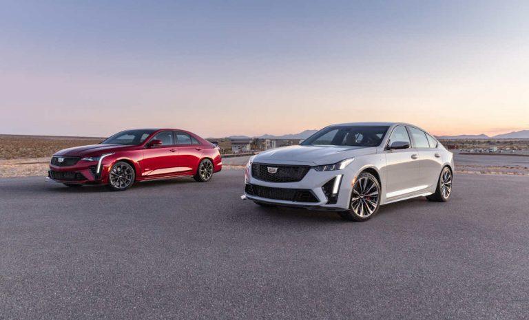 Cadillac bietet Blackwing-Version von CT4-V und CT5-V