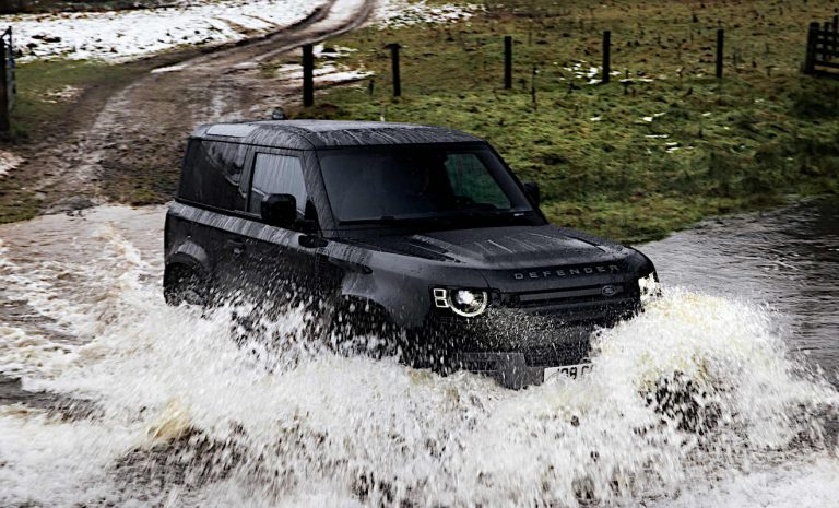 Land Rover Defender kommt als Topvariante