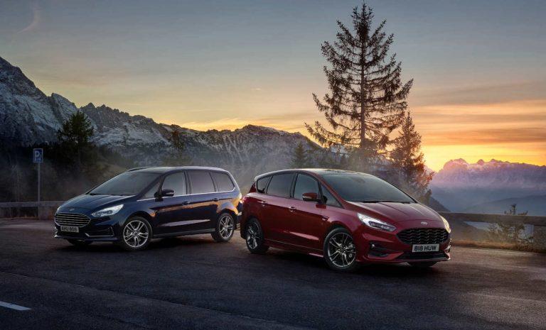 Ford Galaxy und S-Max als Vollhybrid bestellbar