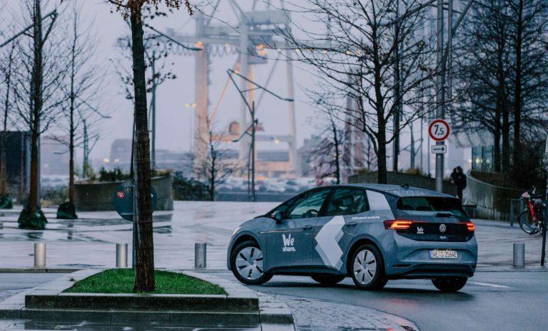 WeShare startet elektrisches Carsharing in Hamburg