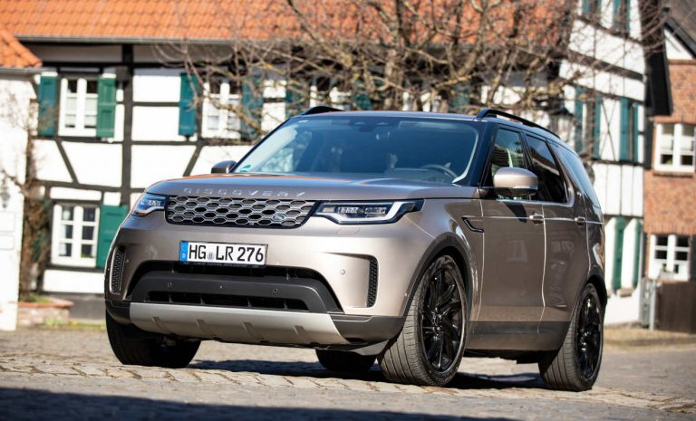 Land Rover Discovery: Jetzt auch mit E-Boost