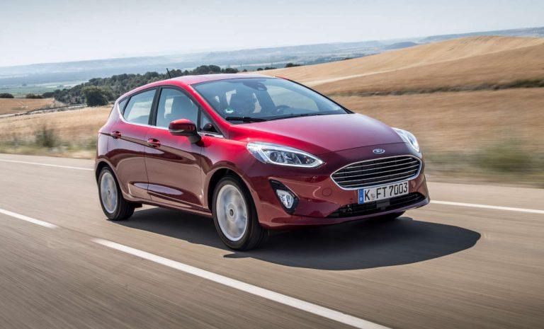 Ford Fiesta: Spaß auch an der Tankstelle