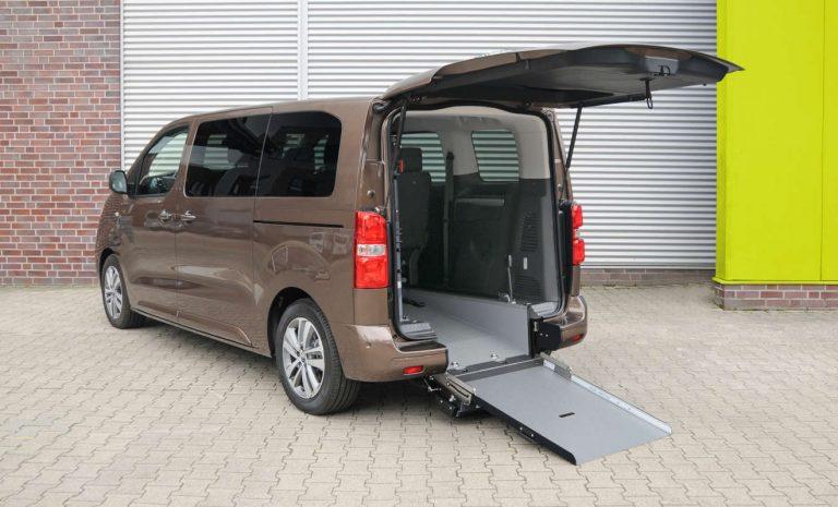 Opel Zafira e-Life als rollstuhlgerechter Umbau