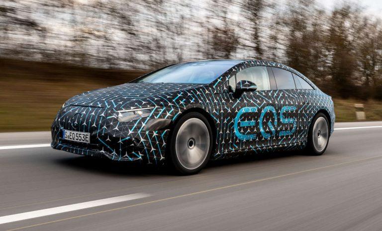 Mercedes EQS: Rendezvous mit EVA