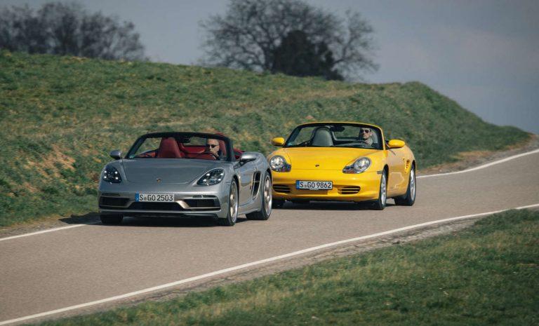 Porsche Boxster: Ein Sondermodell für den Retter