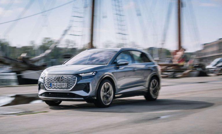 Audi Q4 e-tron: Ein ziemlich starker Auftritt