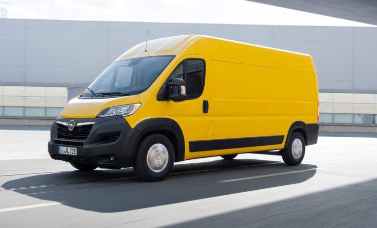 Opel Movano zum Start auch als Elektro-Variante
