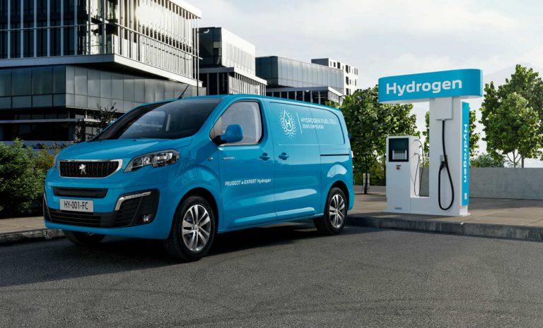 Peugeot e-Expert: Transporter mit Brennstoffzellenantrieb