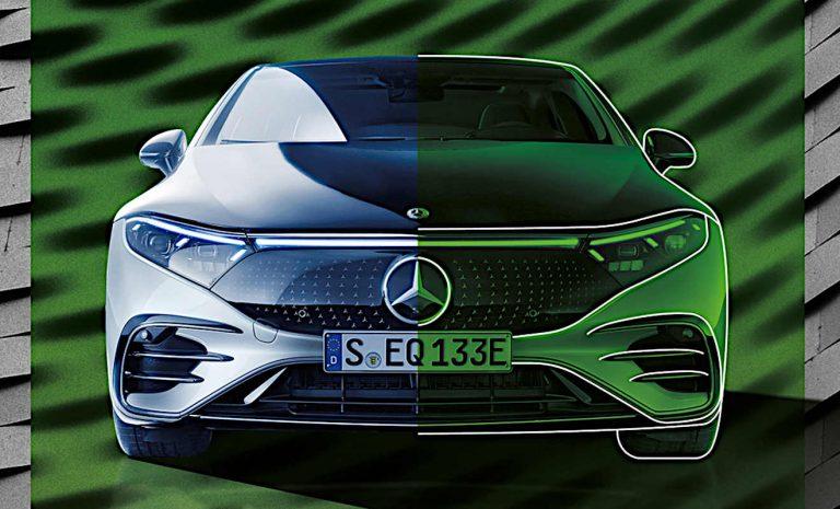 Mercedes setzt zur CO2-Reduktion auf grünen Stahl