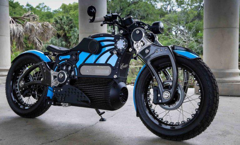 Curtiss One: E-Motorrad setzt auf Retro-Chic