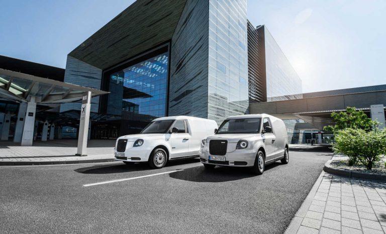 LEVC VN5: Elektro-Van mit Range-Extender