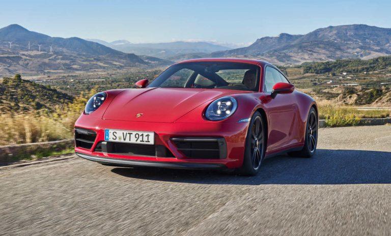 Porsche 911 GTS: Neuauflage mit 30 PS mehr Leistung