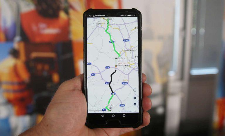 Service-App informiert über Verkehr auf Autobahnen