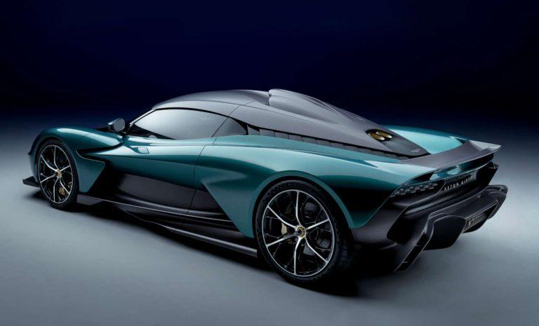 Aston Martin Valhalla: Hypercar mit E-Power