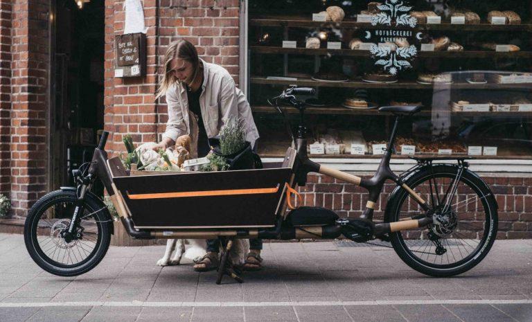 My Boo e-Cargobike: Die hölzerne Alternative