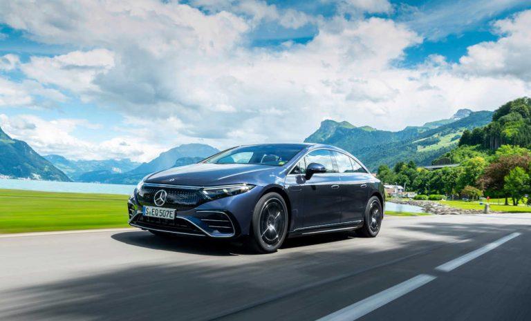 Mercedes EQS: Konkurrenzlos stromern