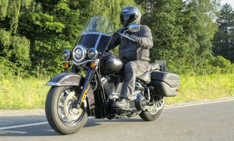 Harley-Davidson Heritage: Freude am langen Fahren