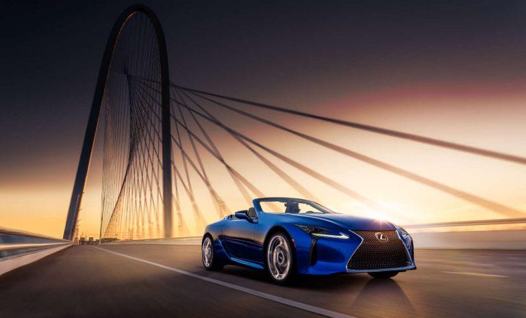 Lexus LC 500: Schönling unter den Cabrios