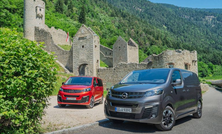 Alpen-Test im Opel Zafira-e: Strom aufwärts