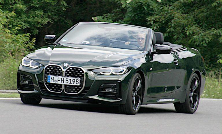 BMW 4er Cabrio: Stilvolles Open-Air-Erlebnis