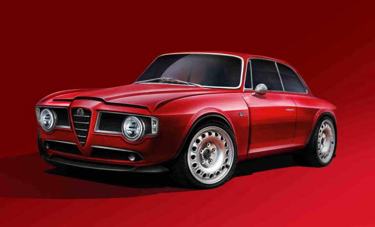 Emilia Auto plant Restomod vom Alfa GT Veloce