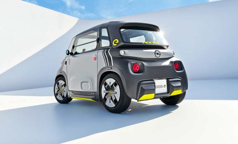 Opel Rocks-e: Kleiner E-Flitzer für die Stadt
