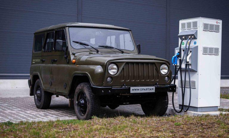 MW Motors Spartan: Sauber über Stock und Stein