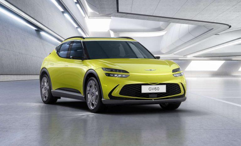 Elektrischer Genesis GV 60 steht vor Marktstart