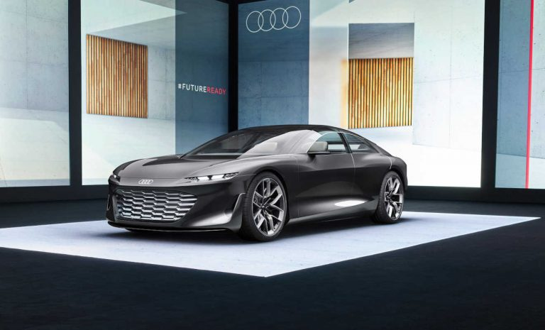 Audi Grandsphere: Ein Designstatement