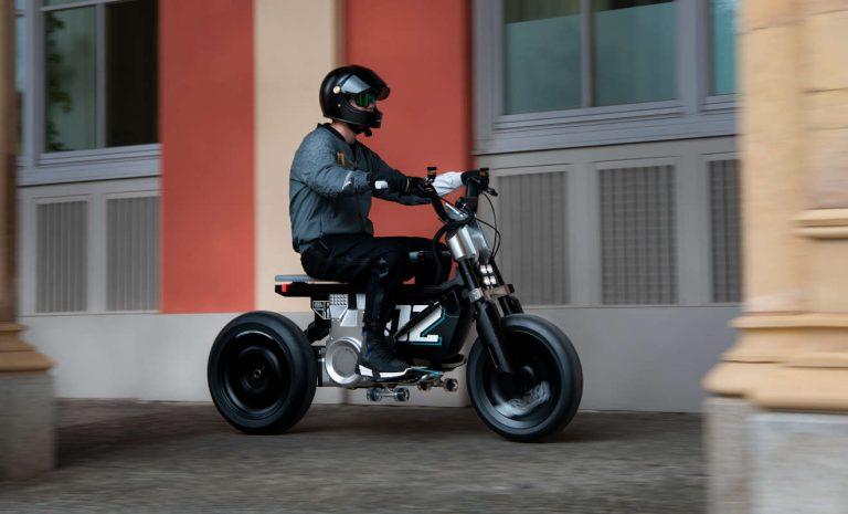 BMW zeigt auf IAA elektrisches Kleinmotorrad