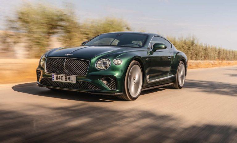 Bentley GT Speed: Für den eiligen Gentleman