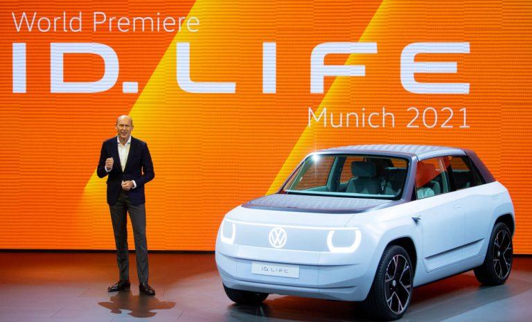 VW-Studie ID. Life: Mini-Stromer für kleines Geld