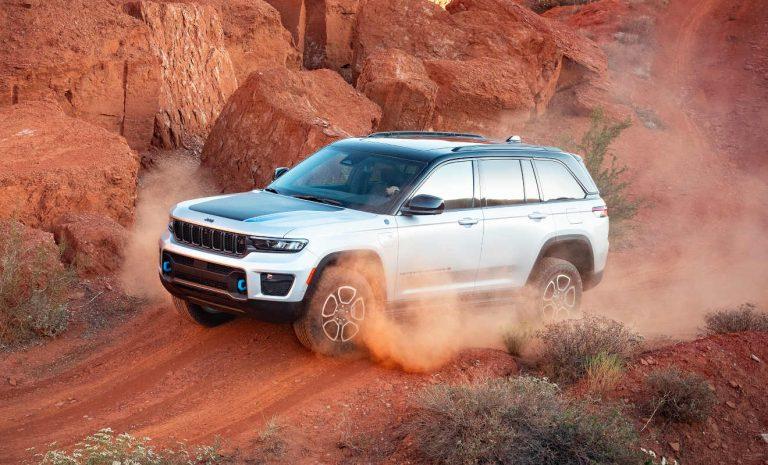 Jeep Grand Cherokee: In Europa nur noch elektrifiziert