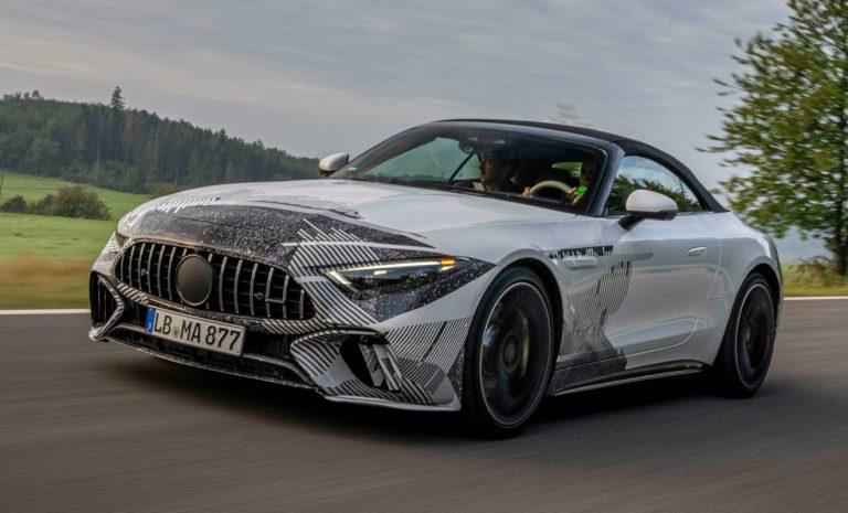 Mercedes SL: Der Roadster macht wieder Sport