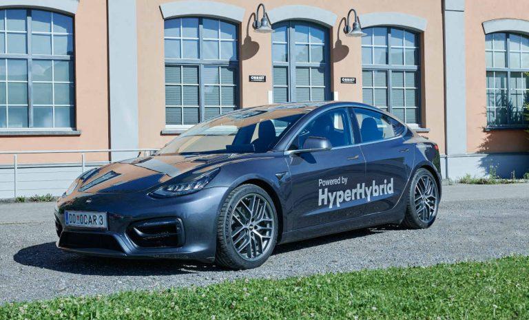 Obrist Hyper Hybrid: Ein Tesla mit Verbrennungsmotor
