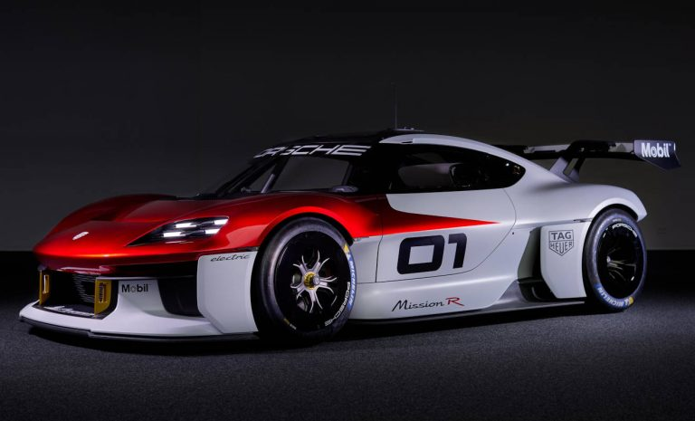 Porsche Mission R: Elektro-Renner mit 1088 PS
