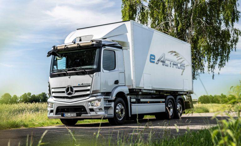Mercedes eActros: Serienstart für Batterie-Brummi