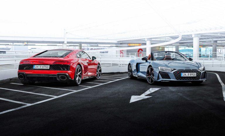 Audi R8: Performance-Variante mit 30 PS mehr Leistung