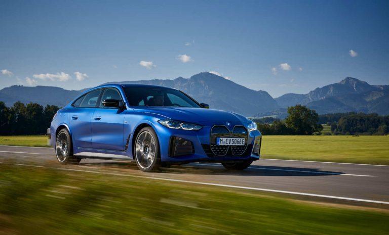 BMW i4: Power bis zum Abwinken