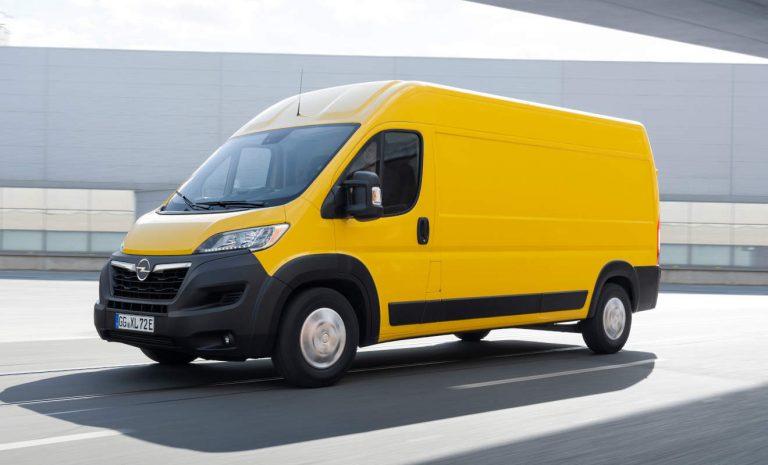 Opel Movano startet bei rund 32.600 Euro