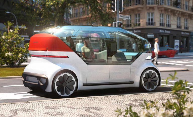 Studie OnePod: Im Robotaxi durch die Stadt