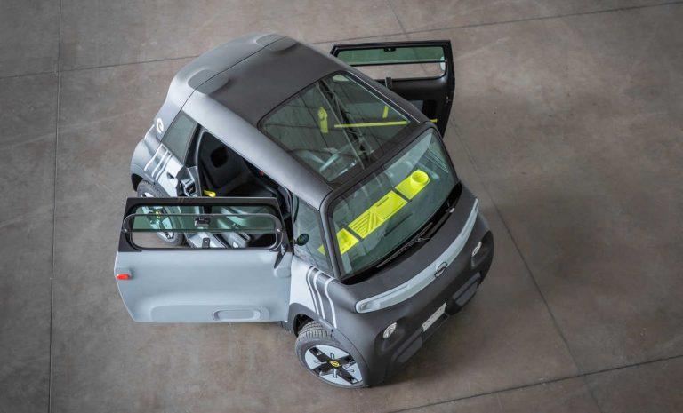 Opel Rocks-e: Winzling in Würfelform