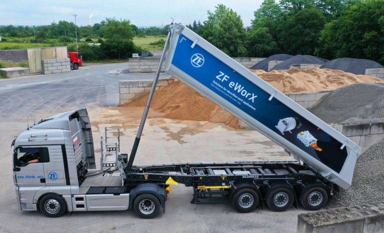 ZF eWorx: Zusatz-Power aus dem Elektro-Laster