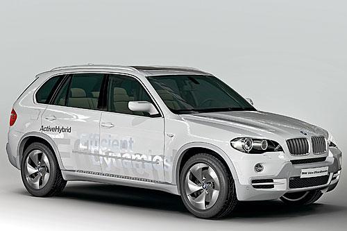 BMW zeigt X5 als Diesel-Hybrid