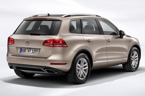 Der VW Touareg